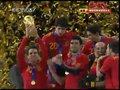 视频:西班牙夺世界杯首冠 兴奋捧起大力神杯