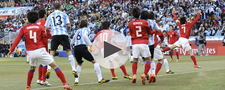 阿根廷4-1韩国 下半场