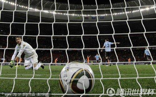 2010世界杯半决赛:荷兰3-2乌拉圭