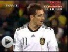进球视频合集:德国4-0横扫 克洛泽比肩传奇