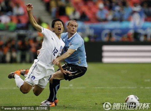 2010世界杯:韩国vs乌拉圭