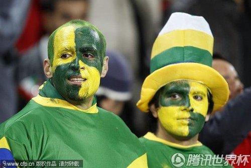 2010世界杯1/8决赛:巴西Vs智利