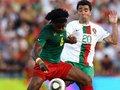 视频:队友精妙弧线助攻 喀麦隆中锋头槌破门