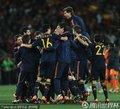 西班牙人庆祝夺冠