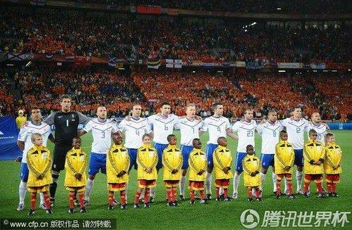 2010世界杯E组末轮:喀麦隆Vs荷兰