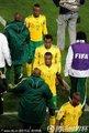 南非球员离场