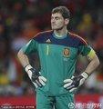 图文:荷兰0-1西班牙 卡西闭目养神