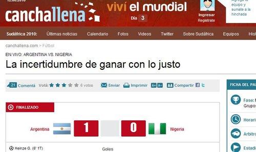 号角报:梅西带领阿根廷打开血路1-0战胜对手