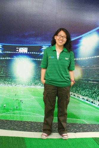 图文:南非世界杯腾讯记者团团长刘静