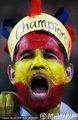 西班牙球迷呐喊助威