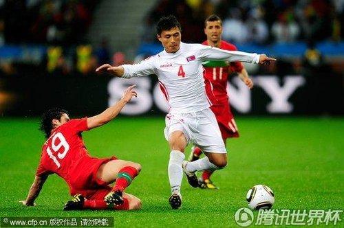 2010世界杯小组赛G组次轮:葡萄牙Vs朝鲜