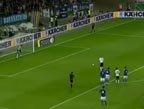 视频:马林突禁区造点球 小猪罚球门左侧命中