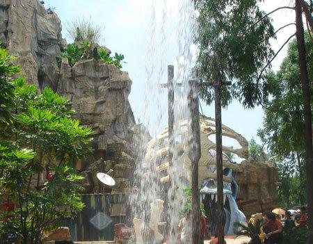 周末休闲野餐聚集地——喷泉谷