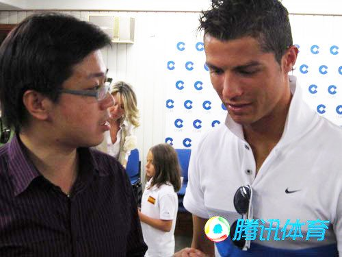 腾讯独家专访C罗:卡卡万人迷 世界杯击败他