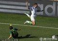 图文:阿尔及利亚0-1斯洛文尼亚 贝尔哈吉被铲