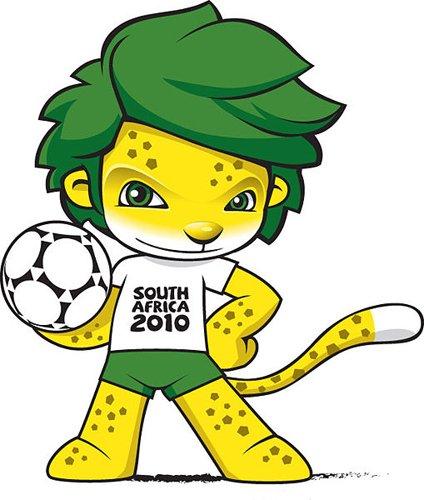 2010年南非世界杯吉祥物:扎库米
