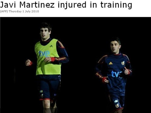 马丁内斯因伤缺席