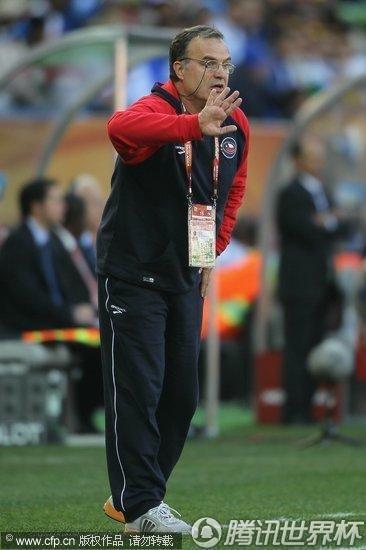 2010世界杯小组赛H组首轮:智利1-0洪都拉斯