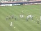 视频:埃里克任意球势大力沉 皮球弧线钻死角