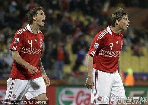 2010世界杯:丹麦vs日本