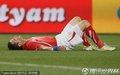 图文:瑞士0-0洪都拉斯 瑞士队员倒地不起