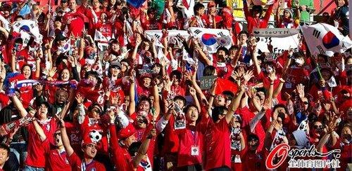 日韩疯狂获684831网民支持 球迷大多理性看球