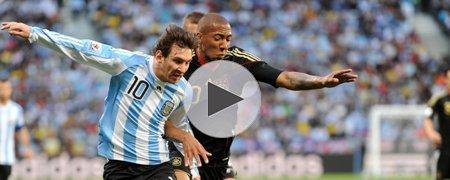 阿根廷0-4德国 上半场