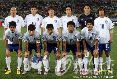 韩国欲破逢乌拉圭不胜怪圈 复仇需谨防两杀手