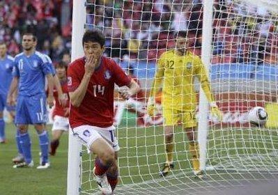 韩国队世界杯最快进球诞生 亚洲最快朝鲜制造