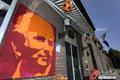 荷兰街头喷绘主帅壁画