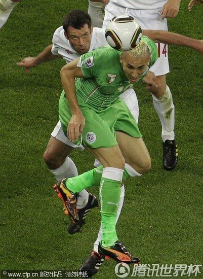 2010世界杯:英格兰vs阿尔及利亚