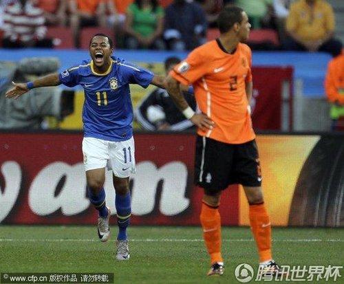 2010世界杯1/4决赛:荷兰Vs巴西