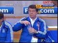 视频:希腊教练稳如泰山 比分落后仍不心着急