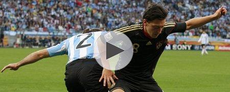 阿根廷0-4德国 下半场