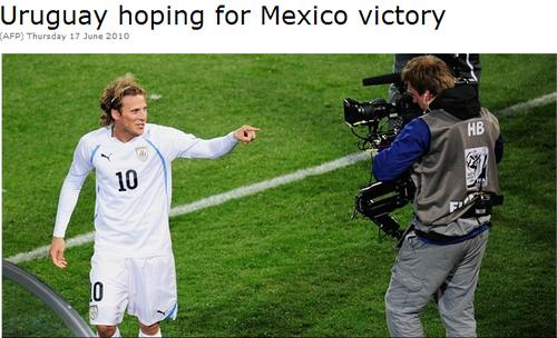 乌拉圭力挺墨西哥胜利 弗兰:并不考虑夺冠