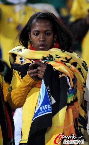 图文:世界杯女球迷的笑与泪(1)