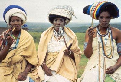 科萨族人在南非