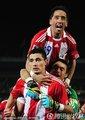 巴拉圭队员庆祝