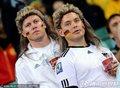 德国球迷装扮诡异