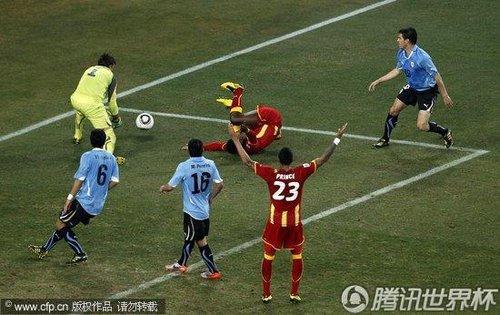 2010世界杯4/1决赛:乌拉圭vs加纳