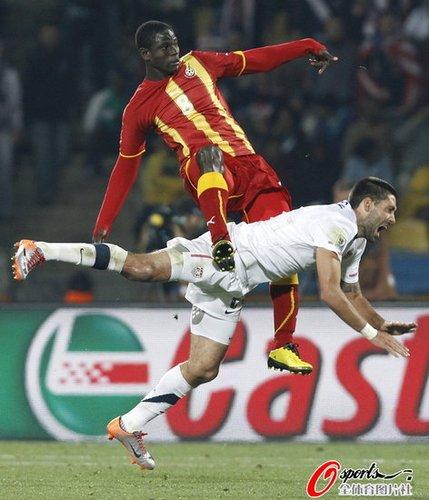 加纳捍卫非洲足球荣誉 翻版国米克服一种绝症