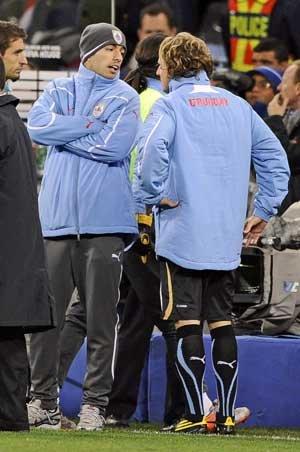 乌拉圭为弗兰等到最后一秒 季军之战绝不放弃
