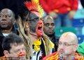 德国球迷呐喊助威