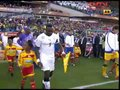视频:比赛即将打响 塞尔维亚和加纳队员入场