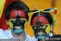 加纳情侣球迷