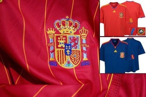 西班牙国家队球衣——复古简洁优雅