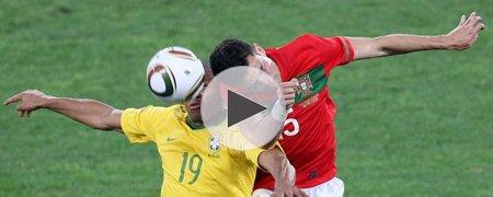葡萄牙0-0巴西 上半场