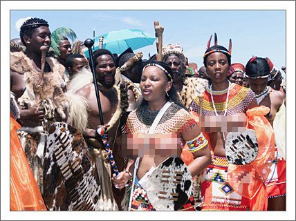 """南非女权——祖鲁族""""处女检查""""习俗"""