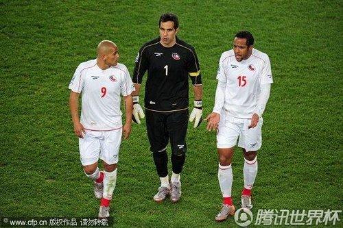 南美金靴世界杯0进球 智利罗纳尔多从未救主