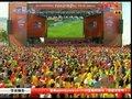 视频:巴西国内球迷观赛 心情跌宕像坐过山车
